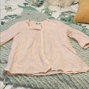 Light pink Pleione Blouse